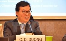 Đại sứ, Trưởng Phái đoàn Việt Nam tại Geneva Dương Chí Dũng. (Ảnh: Hoàng Hoa/TTXVN)
