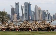 Xe tăng Leopard của quân đội Qatar trong một buổi diễu binh tại Doha. Ảnh: Sputnik.