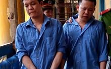 Hai bị cáo tại tòa phúc thẩm ngày 12/6. Ảnh: Tân Châu