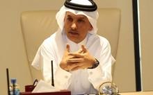Bộ trưởng Tài chính Qatar Ali Sherif al-Emadi. Ảnh: Reuters