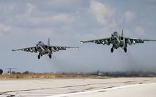 Cường kích Su-25 phóng rocket diệt IS ở Syria