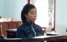 Bị cáo Hồ Thị Anh Thư tại phiên tòa.