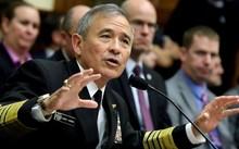 Đô đốc Harry Harris, Tư lệnh Bộ chỉ huy Thái Bình Dương (PACOM) Mỹ. Ảnh: Reuters.
