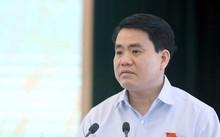 Chủ tịch UBND TP Hà Nội phát biểu tại buổi tiếp xúc cử tri quận Hoàn Kiếm