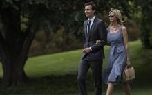 Con rể và con gái Tổng thống Mỹ Donald Trump. Ảnh: Reuters.