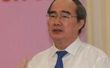 Bí thư Thành uỷ TP HCM Nguyễn Thiện Nhân. Ảnh: Võ Hải.