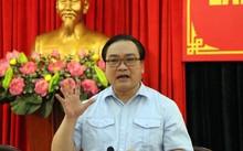 Bí thư Thành ủy Hà Nội Hoàng Trung Hải. Ảnh: Thắng Quang.