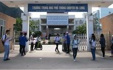 Trường THPT Chuyên Hạ Long dẫn đầu với 59 học sinh đạt thành tích tốt, được khen thưởng. Ảnh: Minh Cương
