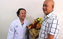 Bệnh nhân sau đợt điều trị thành công. Ảnh: Phú Mỹ