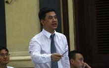 Luật sư Trần Thu Nam tại phiên sơ thẩm lần 2