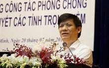 Thứ trưởng Bộ Y tế Nguyễn Thanh Long phát biểu tại Hội nghị. (Ảnh: Phương Vy/TTXVN)