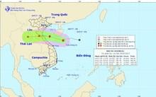 Đường đi của cơn bão. (Nguồn: nchmf.gov.vn)