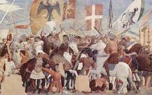 Quân Hồi giáo tiêu diệt lực lượng tiếp viện của Byzantine. Ảnh: War History.