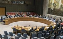 Hội đồng Bảo an Liên Hợp Quốc họp ngày 5/8 nhằm bỏ phiếu về nghị quyết trừng phạt mới nhằm vào Triều Tiên. Ảnh: AP