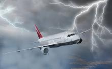 Vỏ máy bay được mạ nhôm bên ngoài đế ngăn dòng điện ảnh hưởng vào bên trong. Ảnh minh họa.