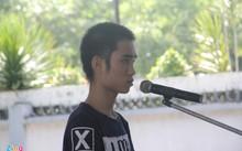 Bị cáo Bàn Văn Duy tại phiên xử ngày 9/8. Ảnh: Xuân Thành.