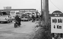 Trạm thu phí BOT trên đường Bắc Thăng Long - Nội Bài (Hà Nội) đang thu phí cho dự án đường tránh Vĩnh Yên (Vĩnh Phúc). Ảnh: Anh Trọng.