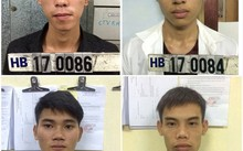 Một số nghi phạm trong vụ án bị bắt giữ.