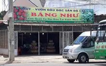 Cơ sở kinh doanh đặc sản Băng Như vừa bị cơ quan chức năng xử phạt hành chính. Ảnh: Minh Quý.