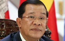 Thủ tướng Campuchia Hun Sen. Ảnh: AFP.