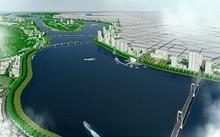 Phối cảnh quy hoạch hai bên bờ sông Trà Khúc. Ảnh: UBND Quảng Ngãi.