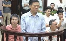 Các bị cáo tại tòa. Ảnh: M.H.