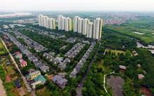 Một khu đô thị ở Hà Nội.