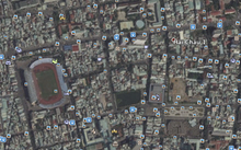 oàn cảnh khu vực trung tâm TP Đà Nẵng và địa điểm được chọn làm Quảng trường trung tâm.