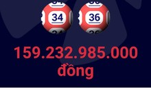 Ngoài 2 giải Jackpot, kỳ mở thưởng này còn có 196 giải nhất, 10.127 giải nhì và 176.792 giải ba. Ảnh chụp màn hình.