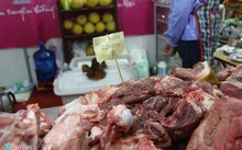 Thịt heo rừng là lựa chọn của nhiều gia đình dịp Tết này