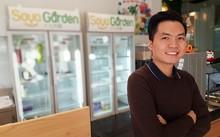 Hoàng Anh Tuấn tự tin với dự án sữa đậu nành Singapore.