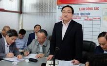 Bí thư Thành uỷ Hà Nội Hoàng Trung Hải nhấn mạnh, vận hành một đô thị lớn như Hà Nội không được phép để lặp lại trận ngập như từng xảy ra năm 2008
