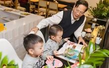 Các bé có thể đọc sách thoải mái