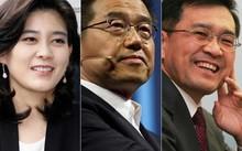 Ba nhân vật sáng giá tiếp quản vị trí lãnh đạo Tập đoàn Samsung (từ trái qua): Cô Lee Boo-jin (46 tuổi), Chủ tịch và Tổng Giám đốc khách sạn Shilla; ông Choi Gee-sung (66 tuổi), Phó Chủ tịch Samsung Electronics; ông Kwon Oh-hyun (64 tuổi), Phó Chủ tịch và
