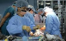 Ca ghép phổi đầu tiên được tiến hành ở Bệnh viện 103 vào ngày 21/2. Ảnh bác sĩ cung cấp.