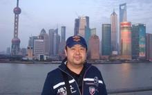 Ông Kim Jong Nam khoe hình ảnh trên mạng xã hội trong một lần đến Trung Quốc. Ảnh: FB.