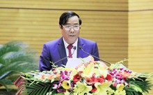 Ông Nguyễn Thanh Bình, Phó trưởng Ban Thường trực Ban Tổ chức trung ương, nhìn nhận chi tiêu cho bộ máy cán bộ lớn nhưng vẫn chưa hiệu quả.