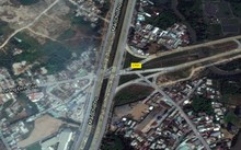 Hầm chui hơn 1.000 tỷ đồng được đề xuất xây nút giao An Phú (quận 2). Ảnh: Gooogle maps.