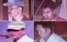 Ảnh chụp các nghi phạm Triều Tiên ngày 13/2 tại sân bay quốc tế Kuala Lumpur 2. Ảnh: The Star.