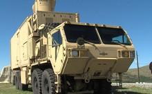 Một xe thử nghiệm laser năng lượng cao HELMT của Mỹ. Ảnh: KSWO