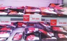 Hầu hết siêu thị tại TP.HCM không bán thịt Brazil, mặt hàng nhập chủ yếu từ Mỹ, Úc.