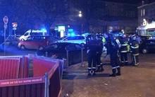 Cảnh sát tại hiện trường vụ xả súng. Ảnh: La Voix Du Nord