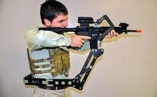 """""""Cánh tay thứ 3"""" sẽ giúp binh sĩ thoải mái hơn trong chiến đấu. Ảnh: Army Mil"""