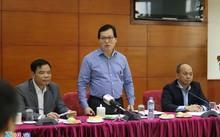 Đại sứ Dương Chí Dũng (giữa) và Bộ trưởng Nguyễn Xuân Cường (bên trái) tại buổi gặp gỡ chiều 30/3.