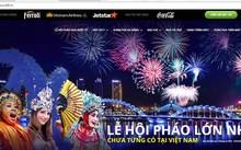 Hình ảnh trên website chính thức của Ban tổ chức lễ hội pháo hoa quốc tế Đà Nẵng. Ảnh chụp màn hình.