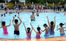 TP.HCM yêu cầu quận huyện phải xây mới tối thiểu 1 hồ bơi mỗi năm. Ảnh minh họa