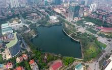 Một dự án chung cư cạnh hồ Nghĩa Đô được chào bán với mức giá từ 60 triệu đồng/m2.