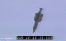 Một quả bom GBU-43/B được thả xuống trong cuộc thử nghiệm ở căn cứ không quân Mỹ hồi năm 2003. Ảnh: Getty.