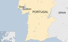Vị trí Tires, Bồ Đào Nha. Đồ họa: BBC.