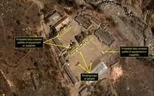 Ảnh vệ tinh chụp các hoạt động quanh điểm thử nghiệm hạt nhân Punggye-ri của Triều Tiên. Ảnh: 38North.